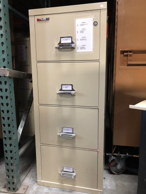 Fire File Cabinet-Preowned